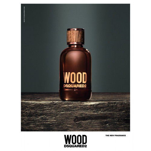 Dsquared² Wood pour Homme 50ml Eau de Toilette Spray