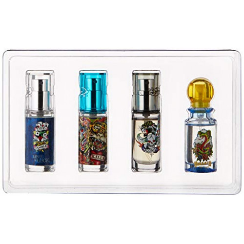 Ed Hardy Deluxe Cologne Collection 4x7,5ml eau de toilette spray