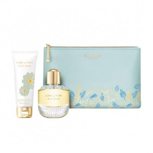 Elie Saab Girl of Now Set 50ml eau de parfum spray + 75ml Bodylotion + tas