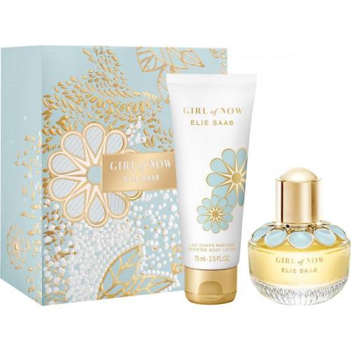 Elie Saab Girl of Now Set 30ml eau de parfum spray + 75ml Bodylotion