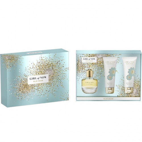 Elie Saab Girl of Now Set 50ml eau de parfum spray + 75ml Bodylotion + 75 ml Showergel