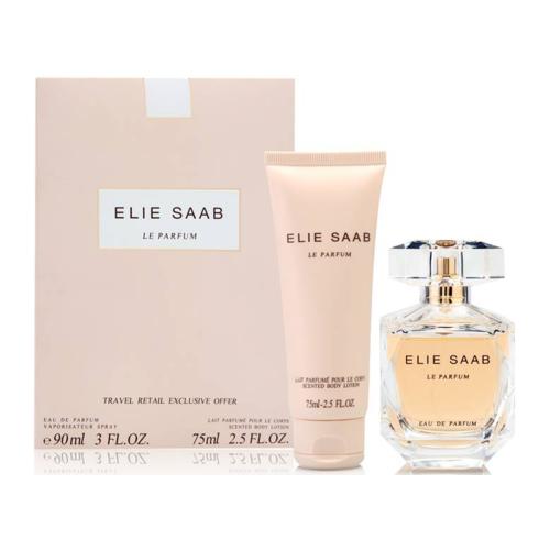 Elie Saab Le Parfum Set 90ml eau de parfum spray + 75ml Bodylotion