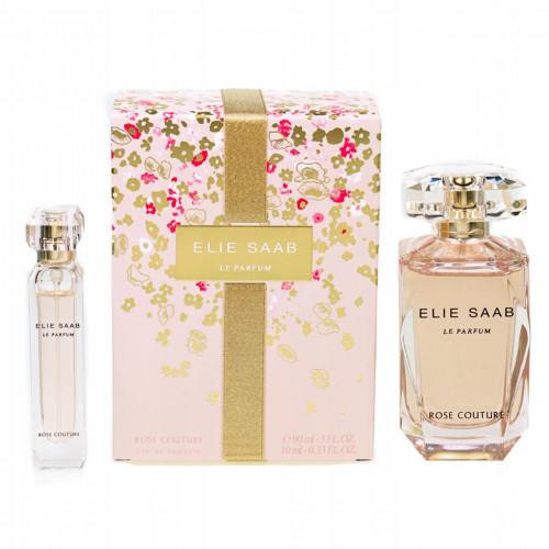 Elie Saab Le Parfum Rose Couture Set 90ml edt spray + 10ml edt spray
