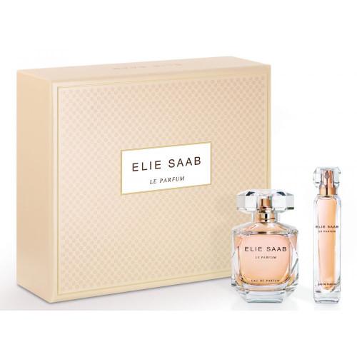 Elie Saab Le Parfum Set 90ml eau de parfum spray + 10ml eau de parfum tasspray