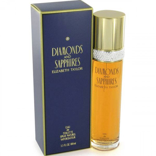 Elizabeth Taylor Diamonds and Sapphires 100ml eau de toilette spray