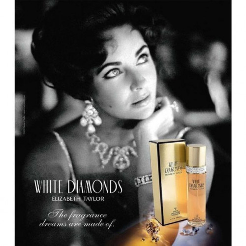 Elizabeth Taylor White Diamonds 100ml eau de toilette spray