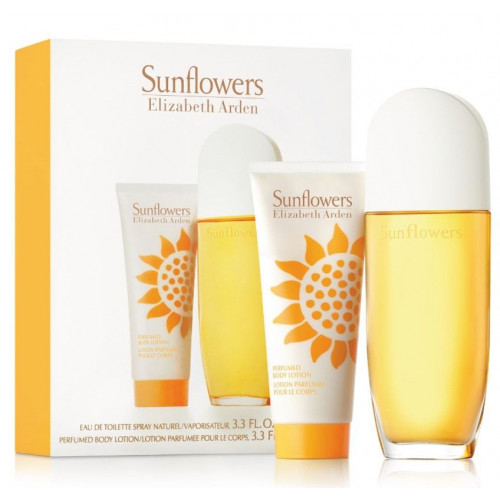 Elizabeth Arden Sunflowers set 100ml eau de toilette spray + 100ml Bodylotion