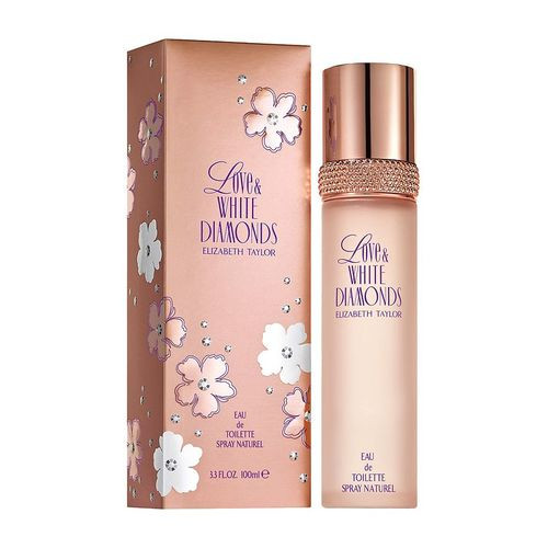 Elizabeth Taylor Love & White Diamonds 100ml eau de toilette spray