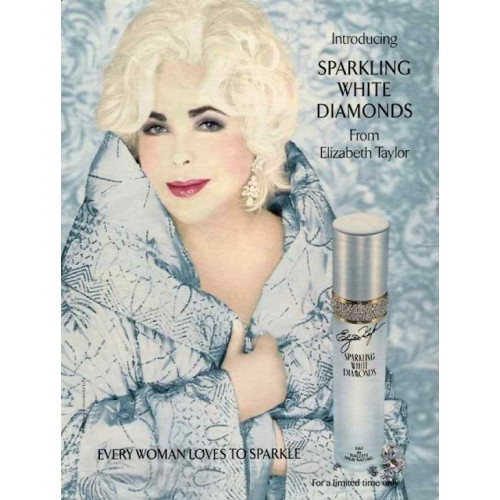 Elizabeth Taylor Sparkling White Diamonds 100ml eau de toilette spray