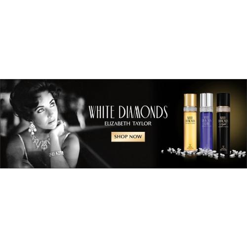 Elizabeth Taylor White Diamonds Set 50ml edt + 30ml Bodylotion + 30ml Showergel + 3,7ml edt mini