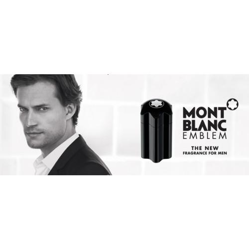 Mont Blanc Emblem Set 100ml eau de toilette spray + 100ml Aftershave Balsem + 7,5ml edt