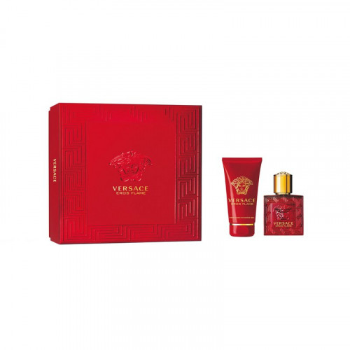 Versace Eros Flame Set 30ml eau de parfum spray + 50ml Showergel