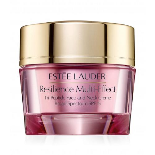 Estée Lauder Resilience Multi-Effect Tri-Peptide Face and Neck Creme SPF15 50ml Gezichtscrème (droge huid)