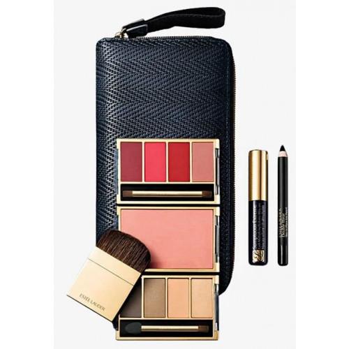 Estee Lauder Travel Exclusive Make-Up Set Lipstick + Eyeshadow + Blush + Mascara + Eye Pencil