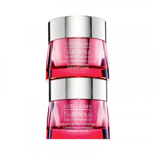 Estee Lauder Nutritious Super-Pomegranate Day and Night Radiant Energy Set 2 x 50ml