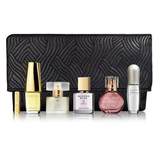 Estee Lauder Purse Spray Collection Miniaturen Set 5x eau de parfum + Tasje