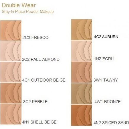 Estee Lauder Double Wear stay-in-place powder Foundation spf10 1N2 Ecru 12g