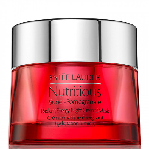 Estee Lauder Nutritious Super-Pomegranate Radiant Energy Nightcreme/ Mask 50ml Nachtcreme/Masker