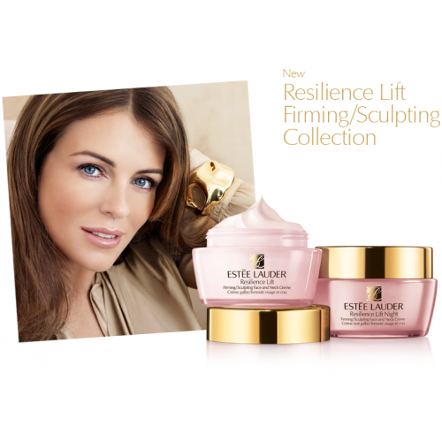 Estee Lauder Resilience Lift Face & Neck creme SPF 15 50ml  Dagcreme Normal/Combination