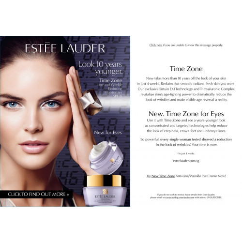 Estee Lauder Advanced Time Zone Age Reversing Line /Wrinkle Creme SPF15 50ml Normal Combination skin