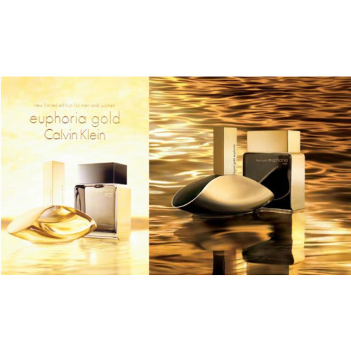 Calvin Klein Euphoria Gold for Woman 100ml eau de parfum spray