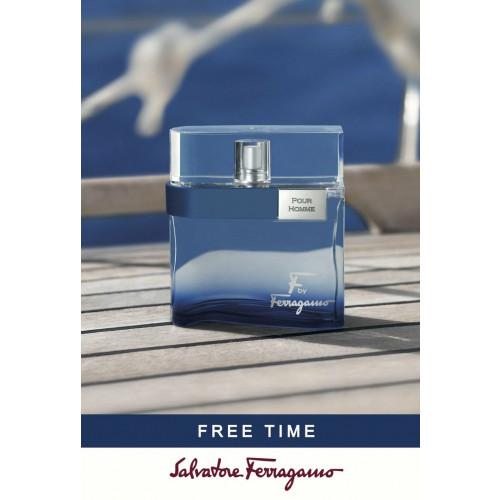 Salvatore Ferragamo F by Ferragamo Free Time 100ml eau de toilette spray