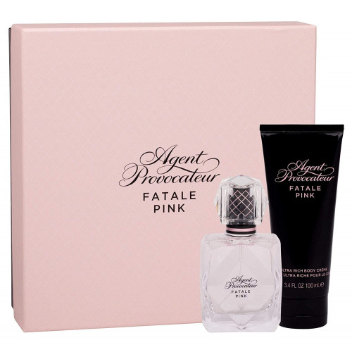 Agent Provocateur Fatale Pink Set 50ml eau de parfum spray + 100ml Bodycream