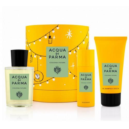 Acqua di Parma Colonia Futura set 100ml Eau de Cologne + 75ml Showergel + 50ml Deodorant Spray