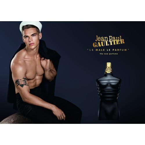 Jean Paul Gaultier Le Male Le parfum Intense Set 125ml eau de parfum spray + 10ml Tasspray