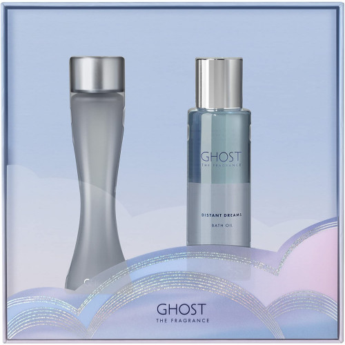 Ghost The Fragrance set 30ml eau de toilette spray + 100ml Bath Oil