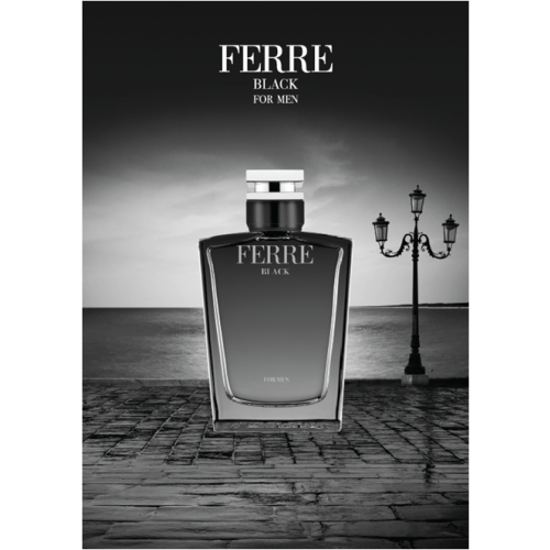 Gianfranco Ferre Ferre Black 100ml Eau de Toilette Spray