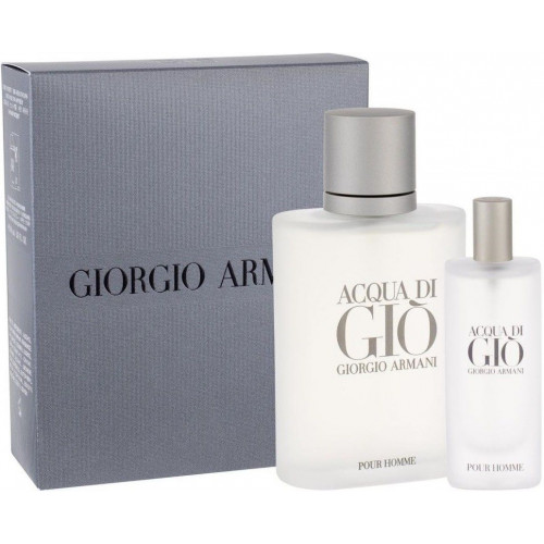 Giorgio Armani Acqua di Gio homme set 100ml edt spray + 15ml edt