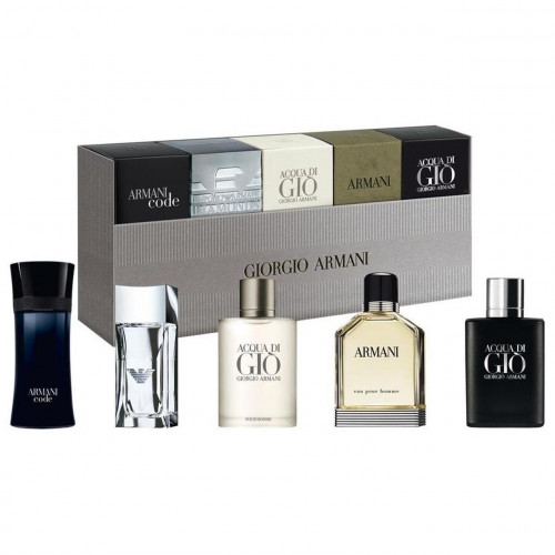 Giorgio Armani Homme Miniaturen Set 5 delig The men's collection