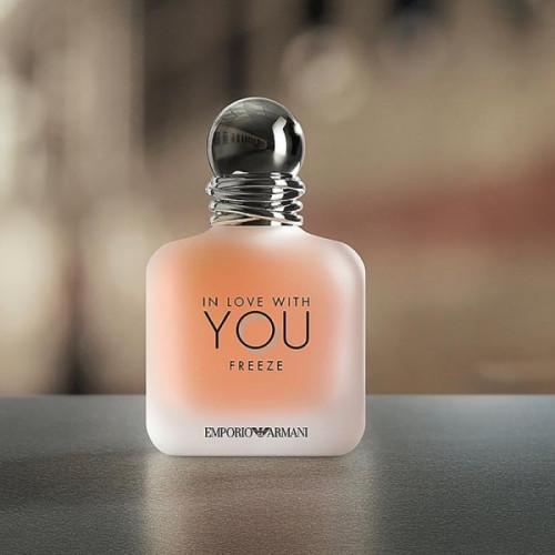 Giorgio Armani In Love With You Freeze 100ml eau de parfum spray