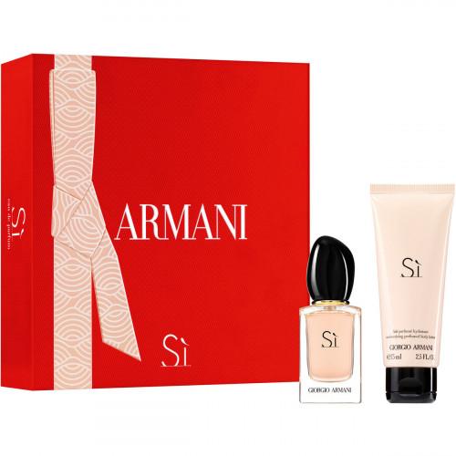 Giorgio Armani Si Set 30ml eau de parfum spray + 75ml Bodylotion