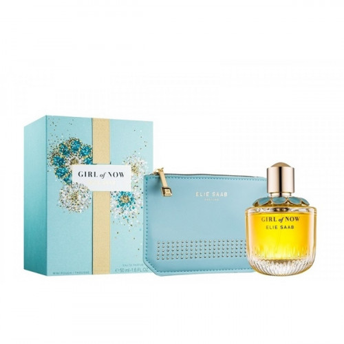 Elie Saab Girl of Now Set 50ml eau de parfum spray + tas