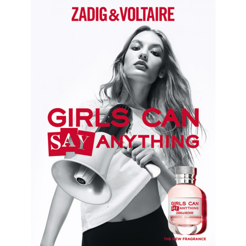 Zadig & Voltaire Girls Can Say Anything 50ml eau de parfum spray