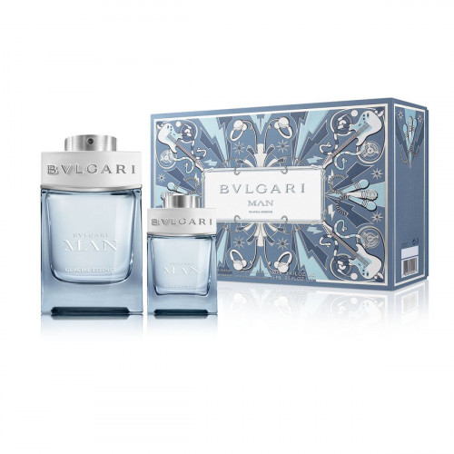 Bvlgari Man Glacial Essence Set 100ml eau de parfum spray + 15ml edp spray