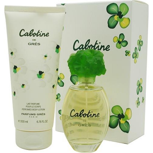 Gres Cabotine Set 100ml eau de toilette spray + 200ml Bodylotion