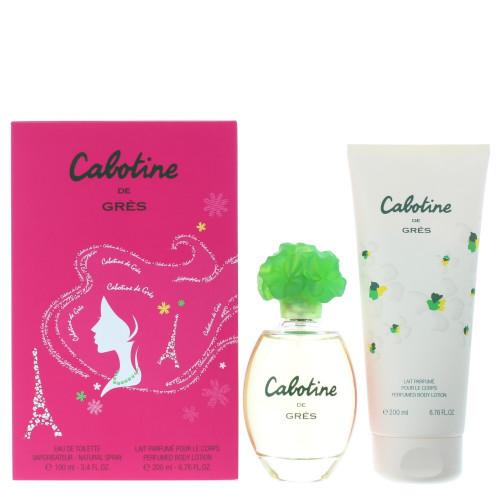 Gres Cabotine Set 100ml eau de toilette spray + 200ml Bodylotion
