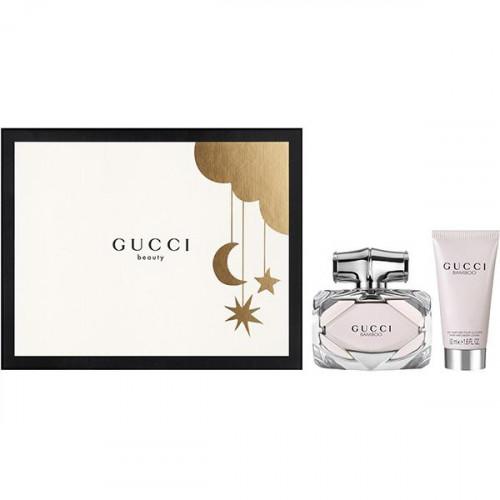 Gucci Bamboo Set 50ml eau de parfum spray + 50ml Bodylotion