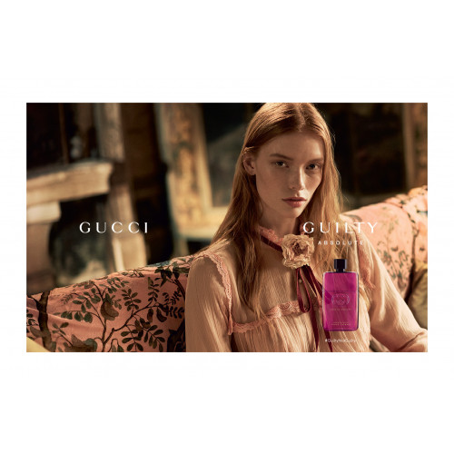 Gucci Guilty Absolute Pour Femme Set 50ml eau de parfum spray + 7,4ml edp Rollerbal