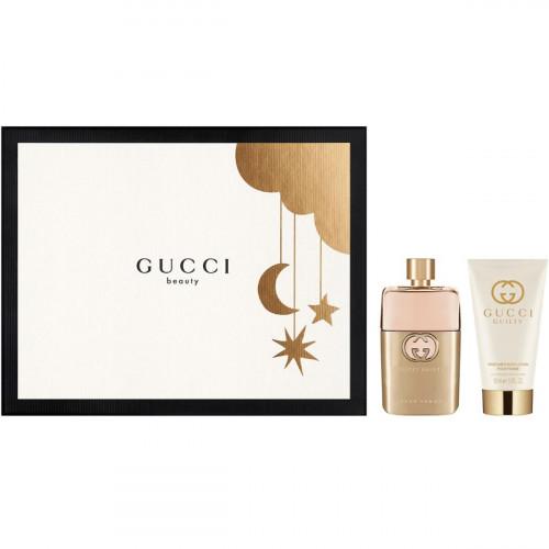 Gucci Guilty Set 50ml eau de parfum spray + 50ml Bodylotion