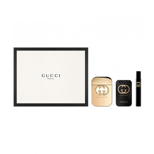 Gucci Guilty Set 75ml eau de toilette spray + 100ml Bodylotion + 7,4ml edt