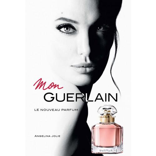 Guerlain Mon Guerlain Set 100ml eau de parfum spray + 75ml Showergel + 75ml Bodylotion + 5ml edp miniatuur