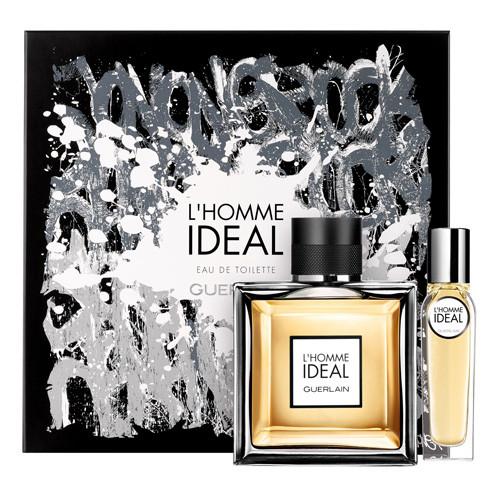 Guerlain L'Homme Ideal Set 100ml Eau De Toilette Spray + 15ml edt tasspray