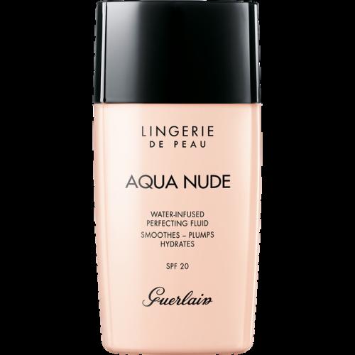 Guerlain Lingerie De Peau Aqua Nude Water-Infused Foundation 30ml Spf20 00N Porcelain