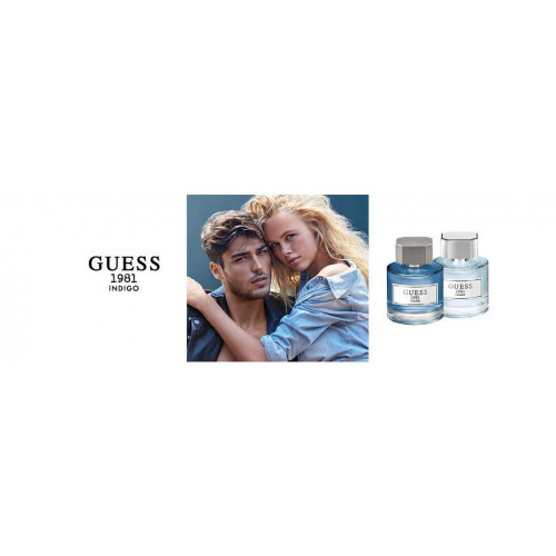 Guess Guess 1981 Indigo for Men 100ml eau de toilette spray
