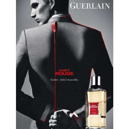 Guerlain Habit Rouge 200ml Eau De Toilette Spray Houtachtig Orientaalse Geuren Geurnoten Over Parfum Parfumcenter Nl
