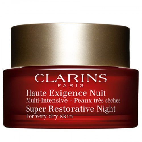 Clarins Multi-Intensive Crème Haute Exigence Nuit Peaux Seches  50ml nachtcréme droge huid